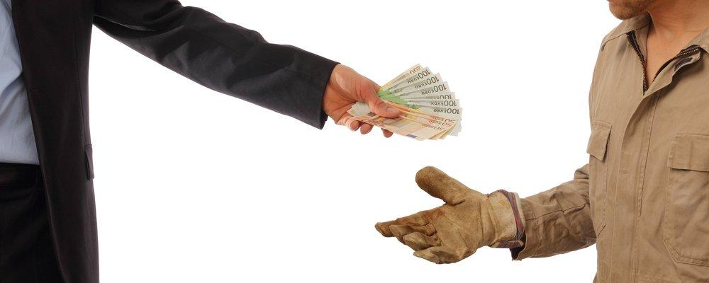 Compensación y absorción de salarios